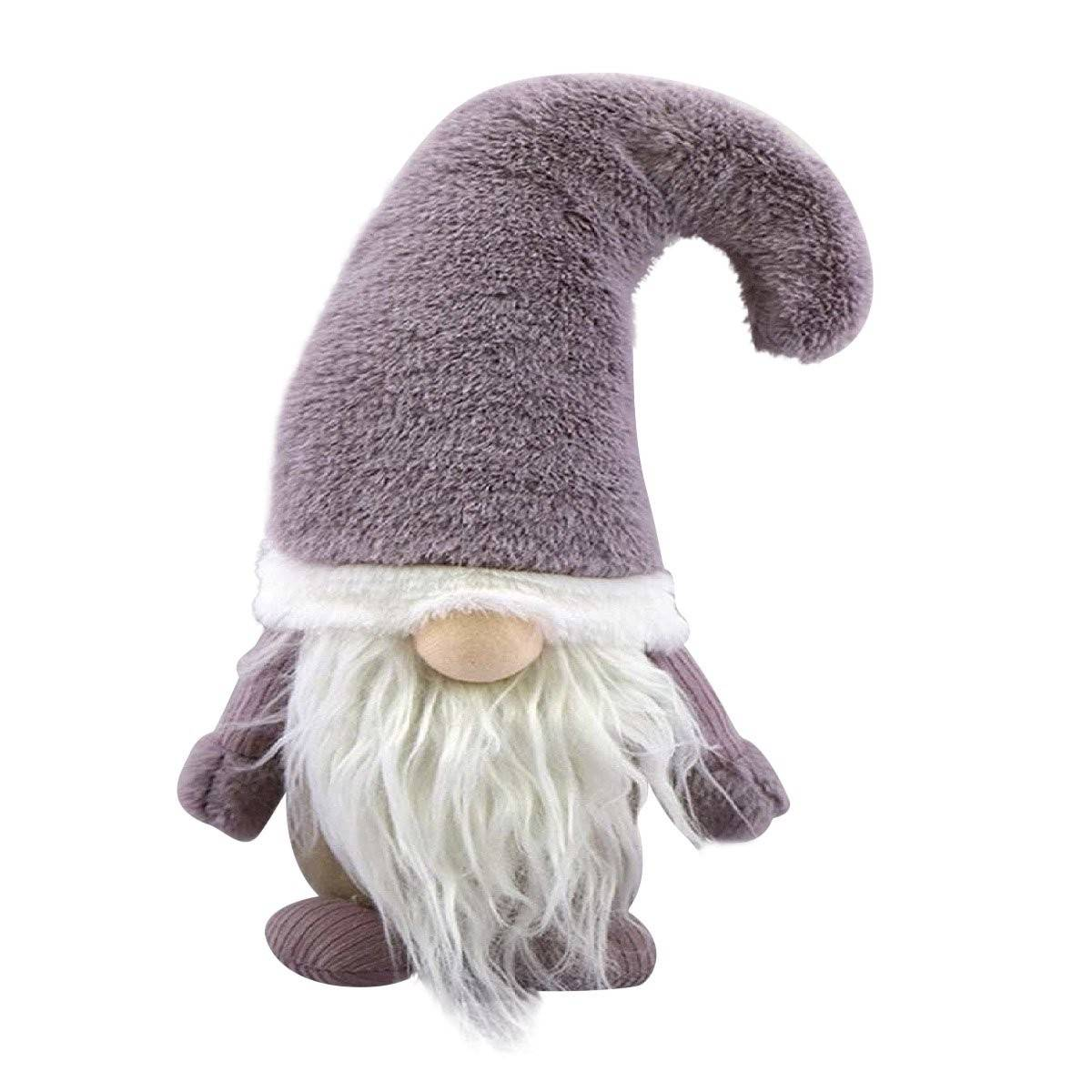 MAUVE HAT FABRIC GNOME
