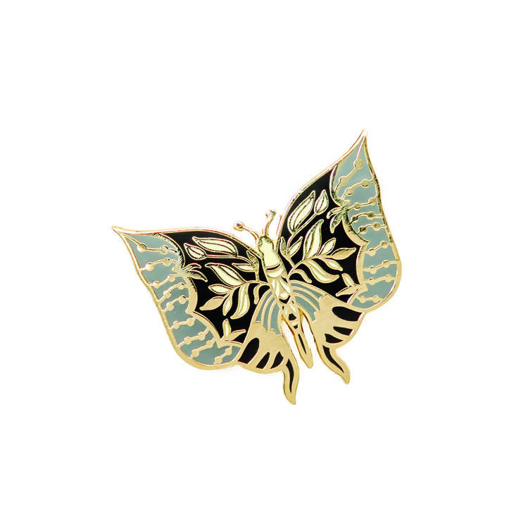 BUTTERFLY WINGS HARD ENAMEL PIN