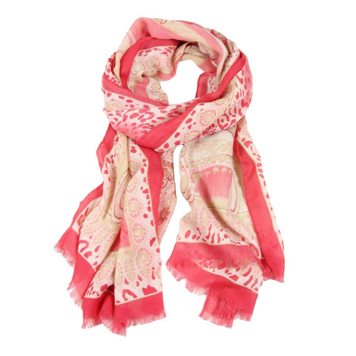 Atalie Animal Paisley Scarf