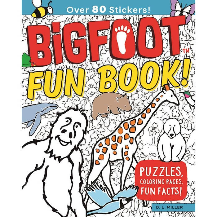 BigFoot Fun Book!