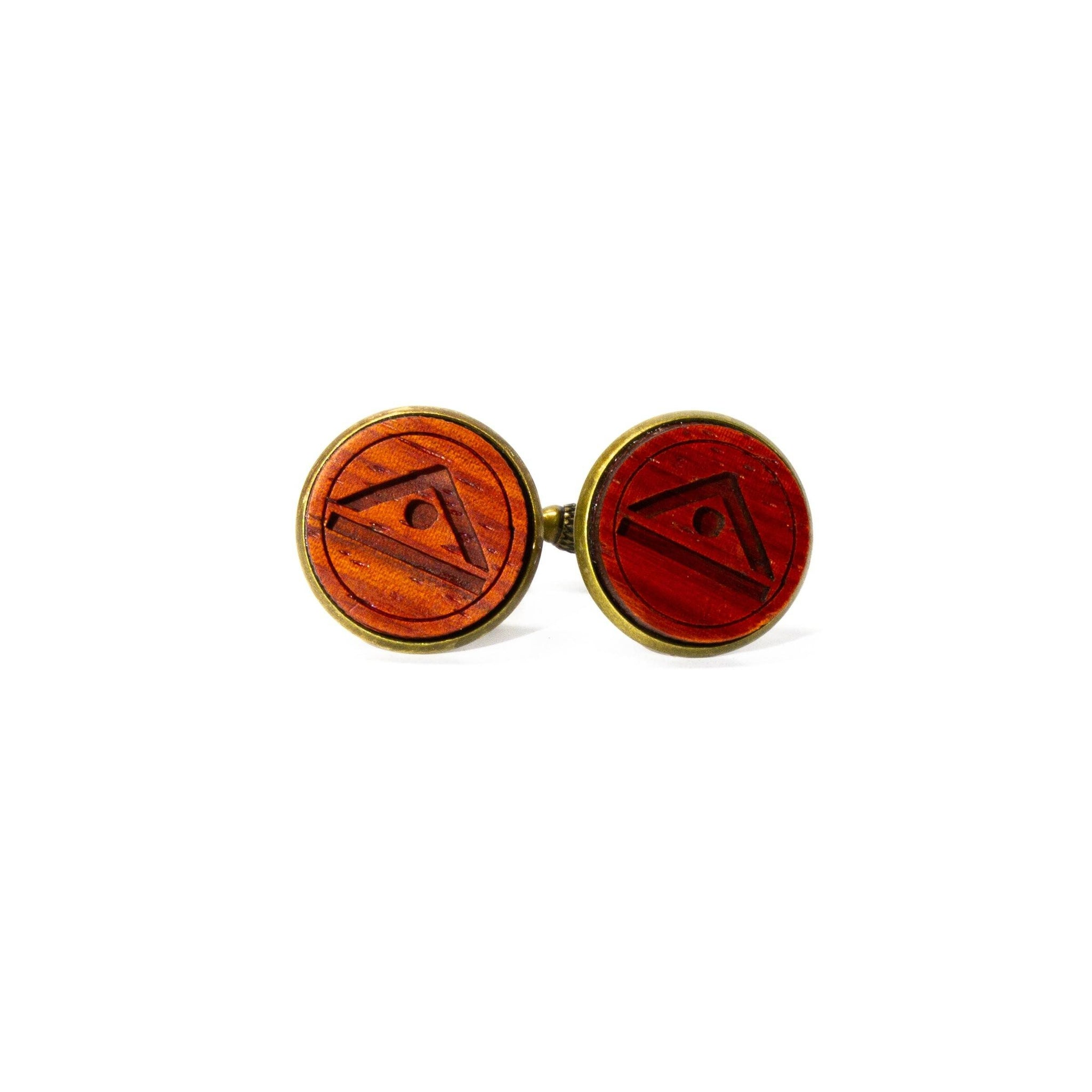 Thornybush: Padauk Cufflinks
