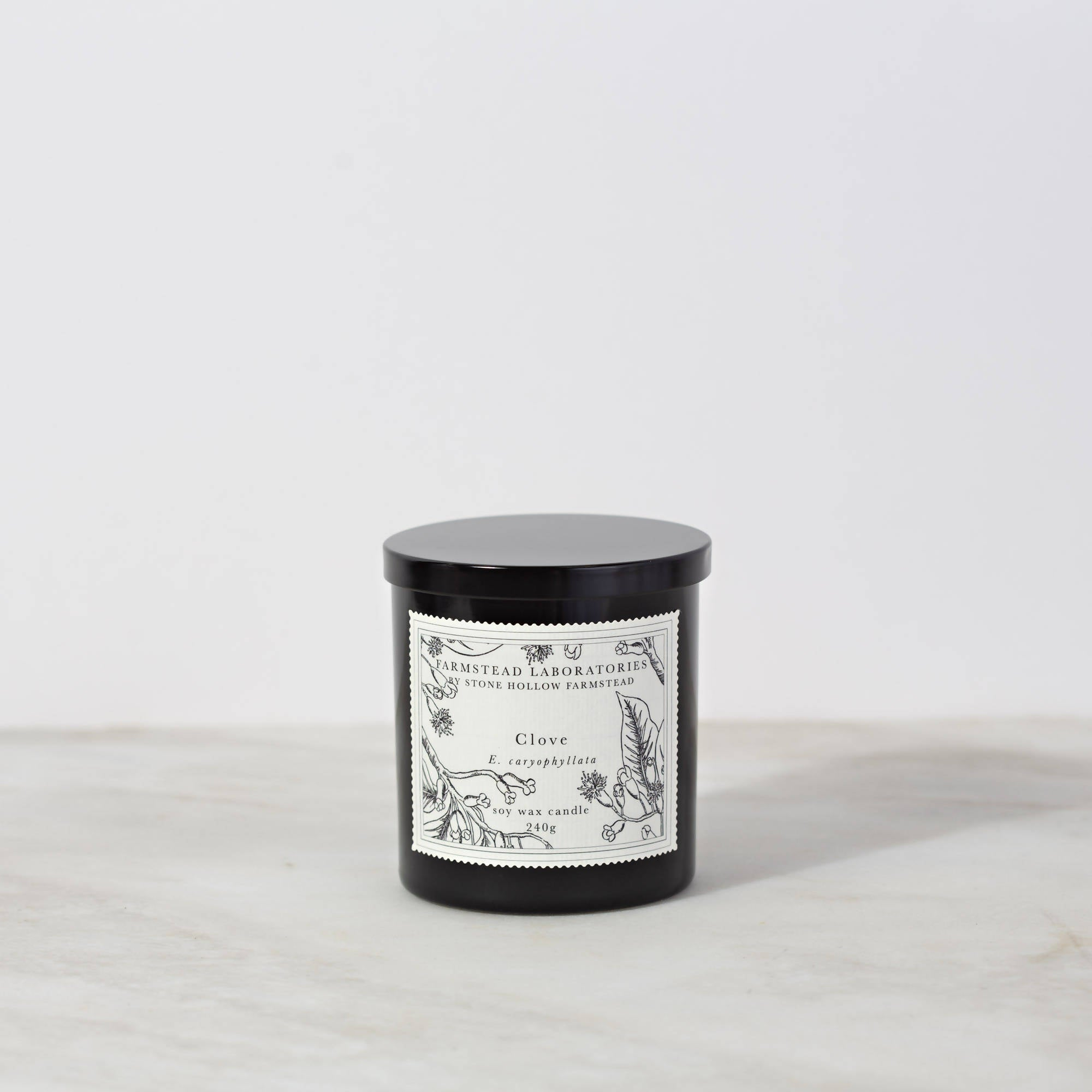 BOTANICAL SOY WAX CANDLE / CLOVE