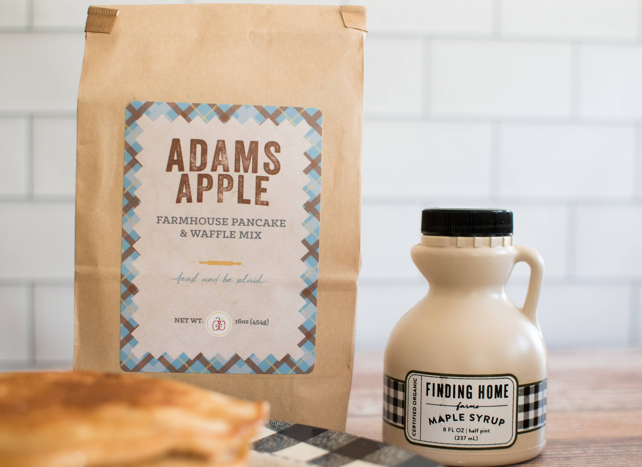 ADAMS APPLE FARMHOUSE PANCAKE AND WAFFLE MIX