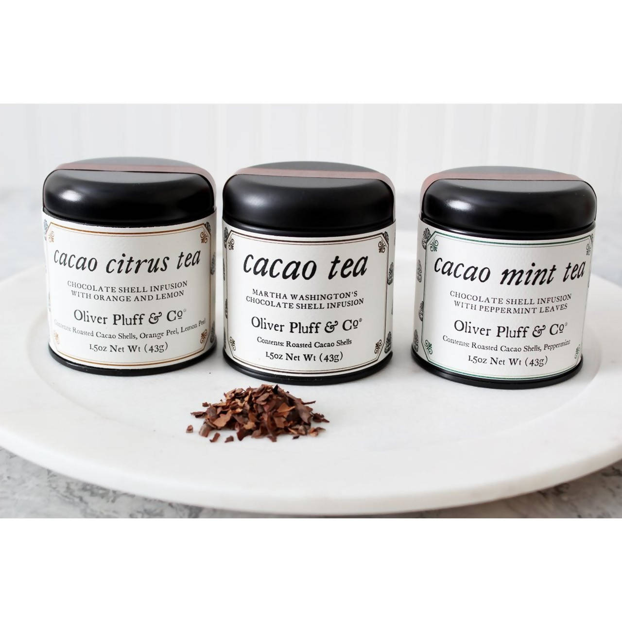 Cacao Shell Trio