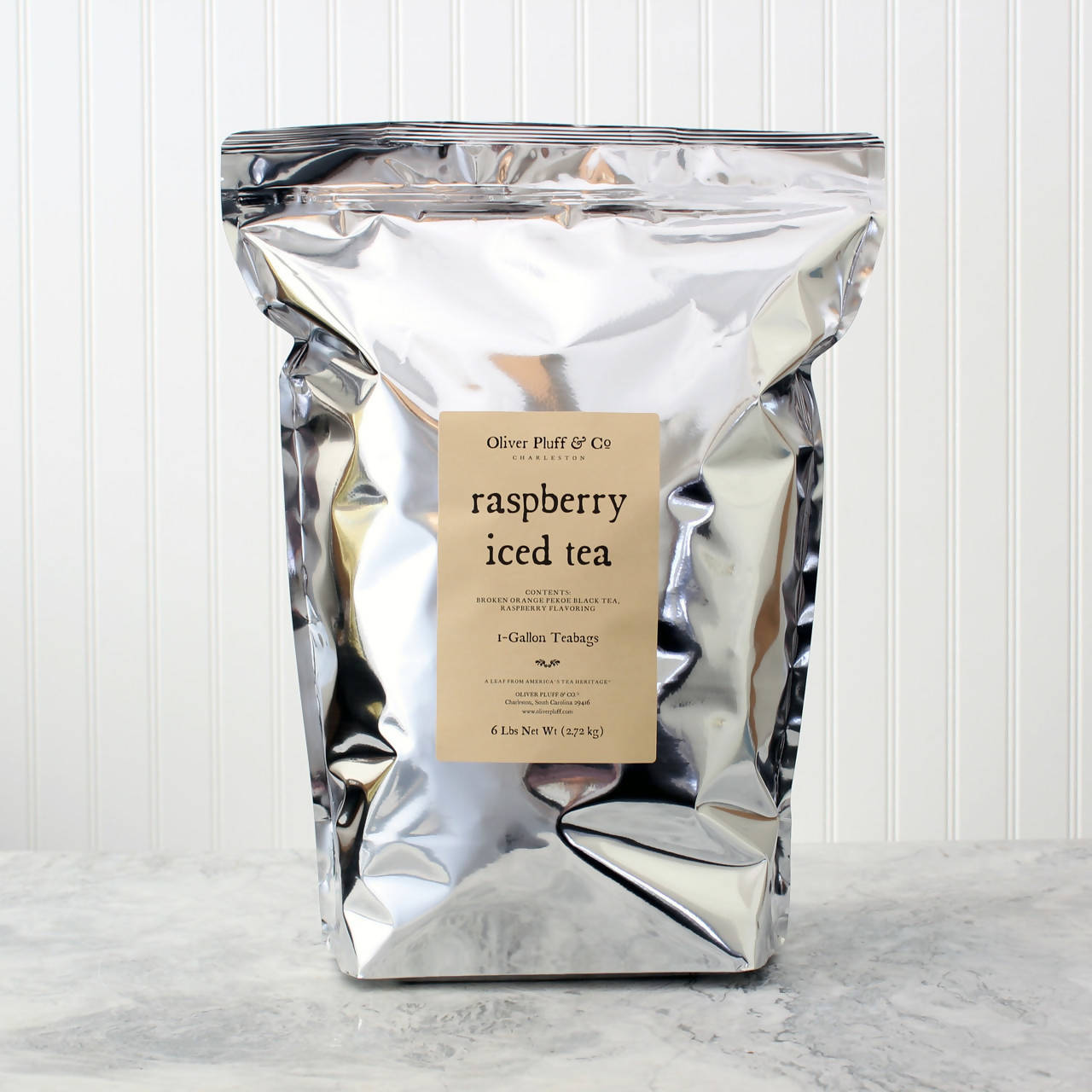 Raspberry Iced Tea - 96 One-Gallon Teabags