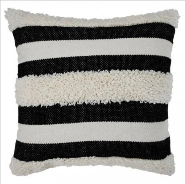 Handwoven Pillow/KC 25 IV BLK 22