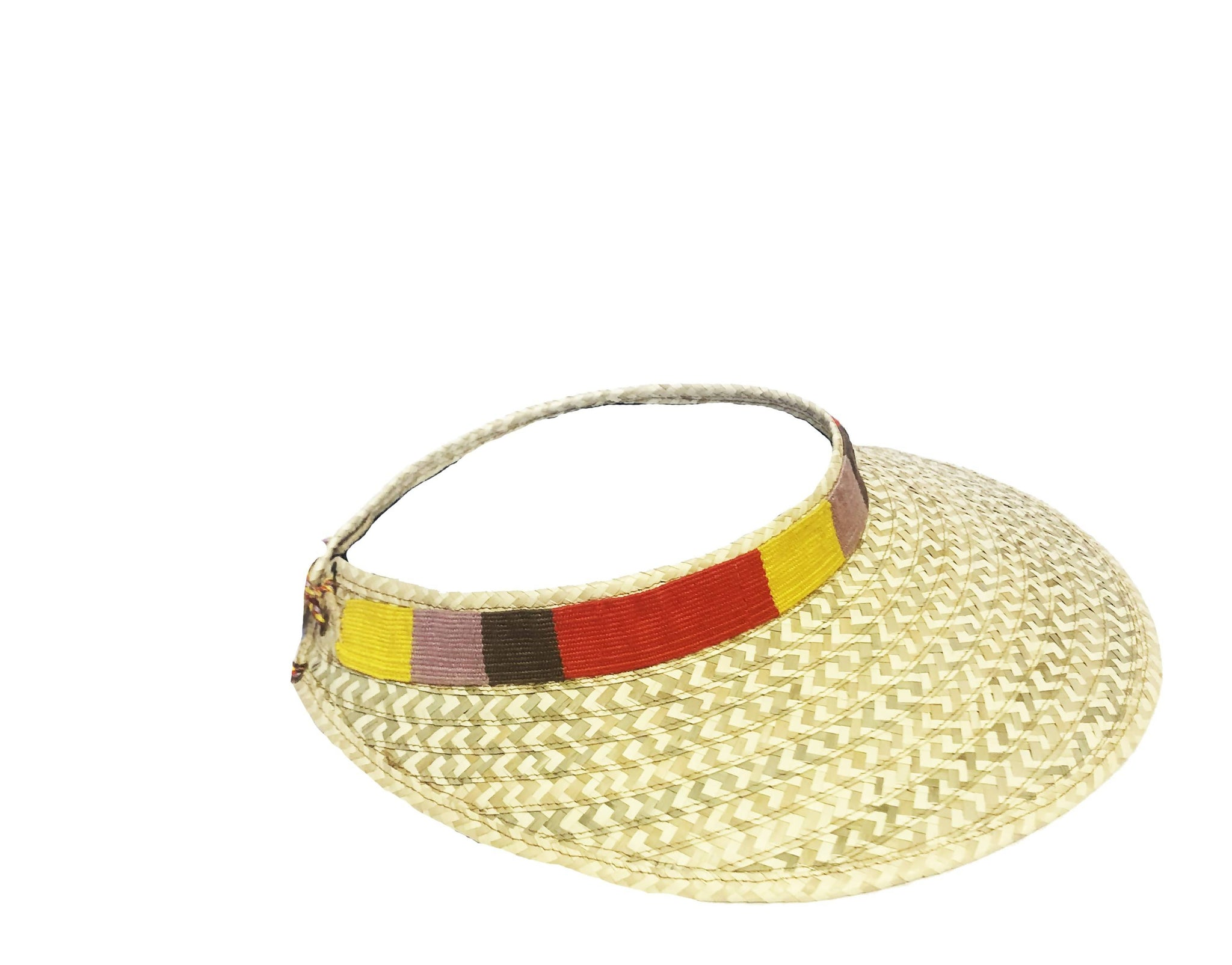Odelia Striped Visor