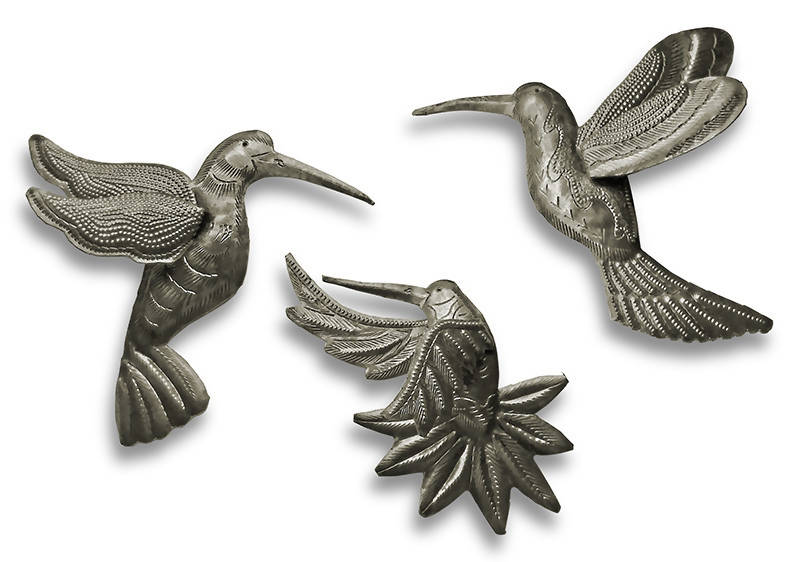 Hummingbirds 3-D - Set of 3 assorted