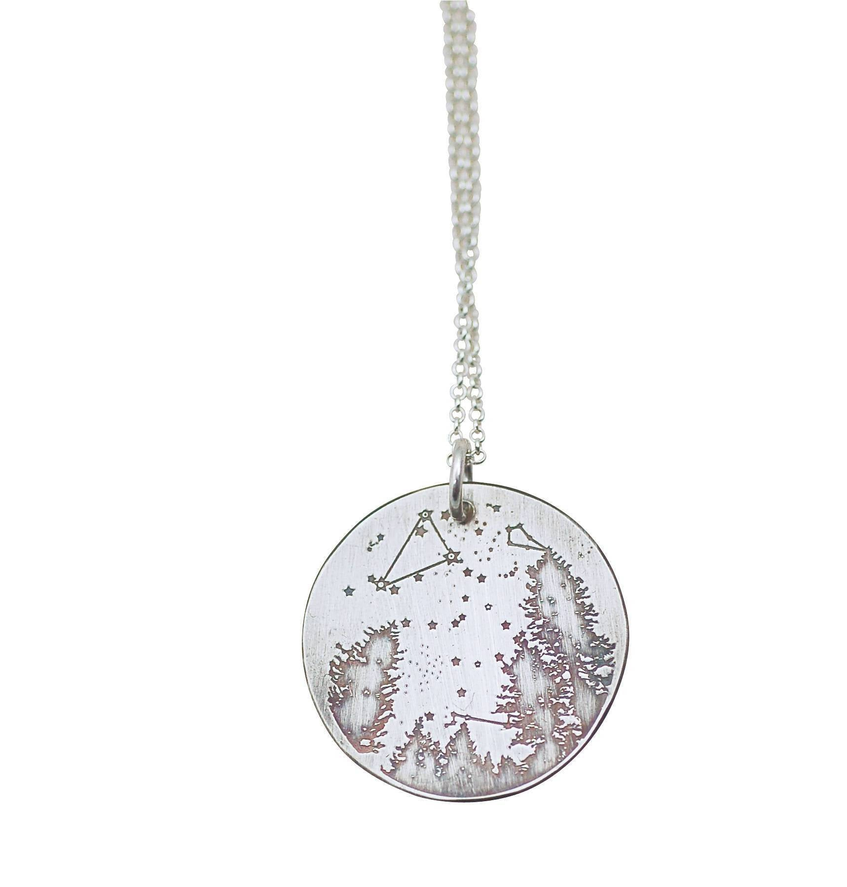 Summer Night Sky Necklace
