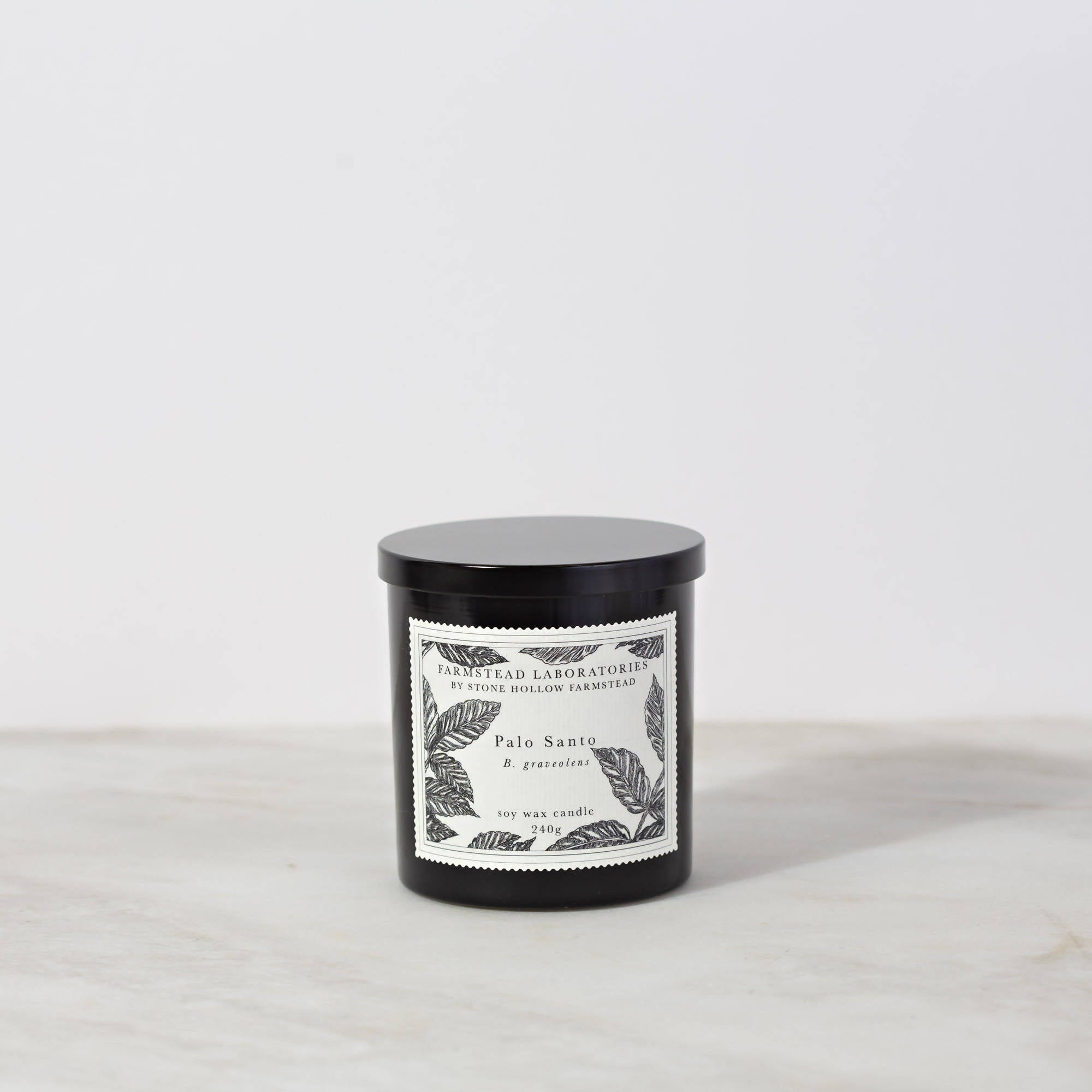 BOTANICAL SOY WAX CANDLE / PALO SANTO