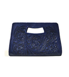 Isabel Small Clutch Blue