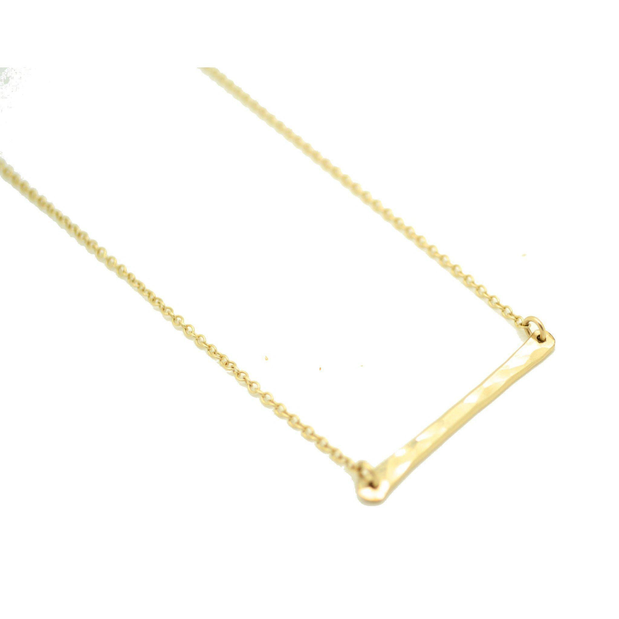 The Horizontal Bar Necklace Wholesale
