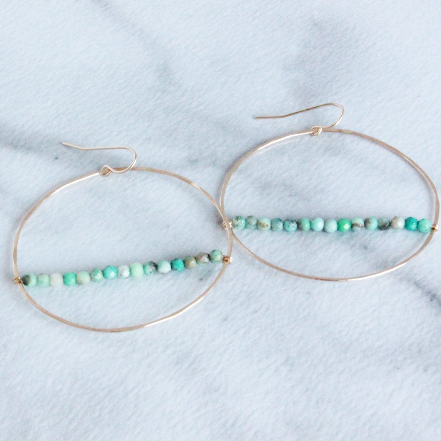 The Large Hoop with Beads Wholesale