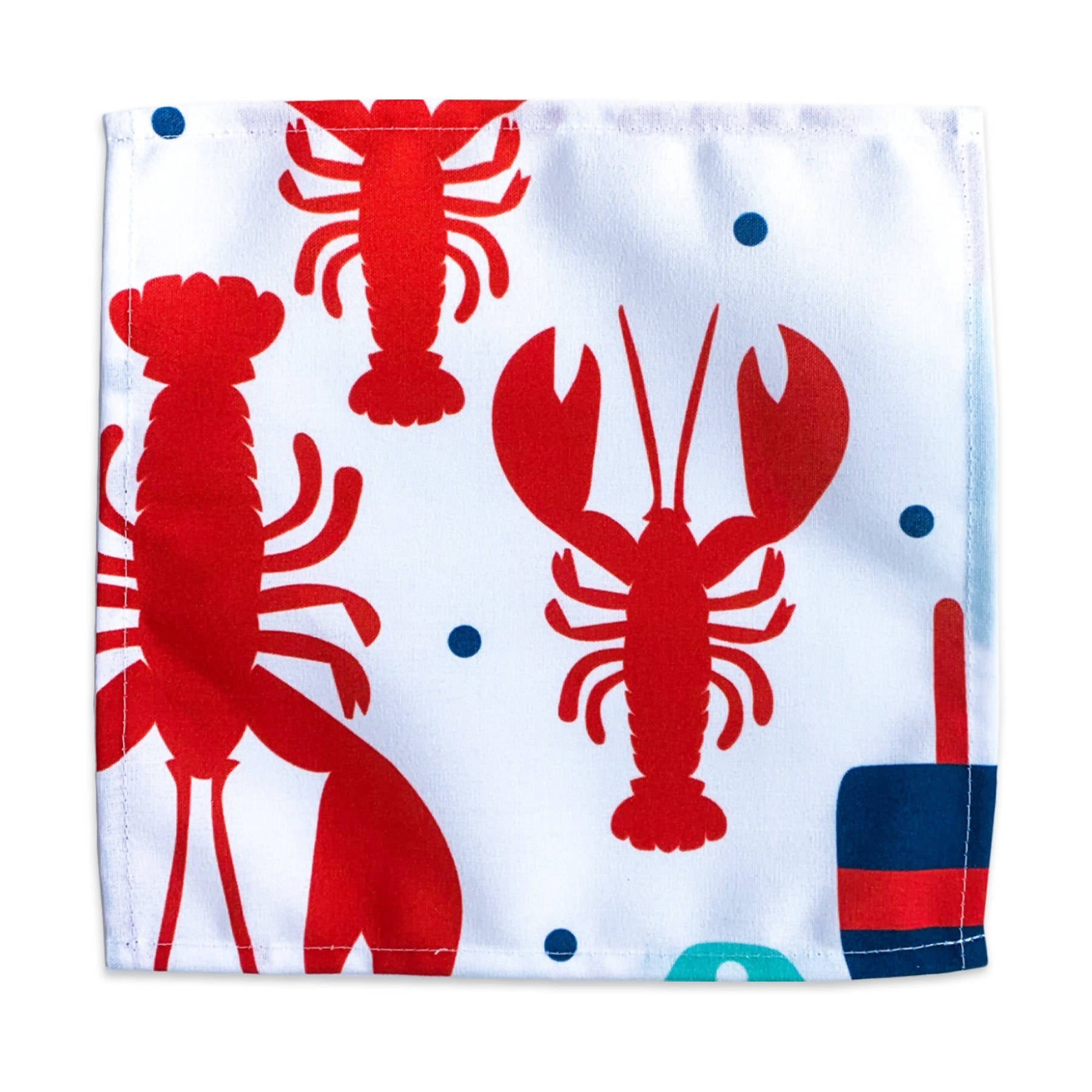 Dinner Napkin - Buoys & Lobsters