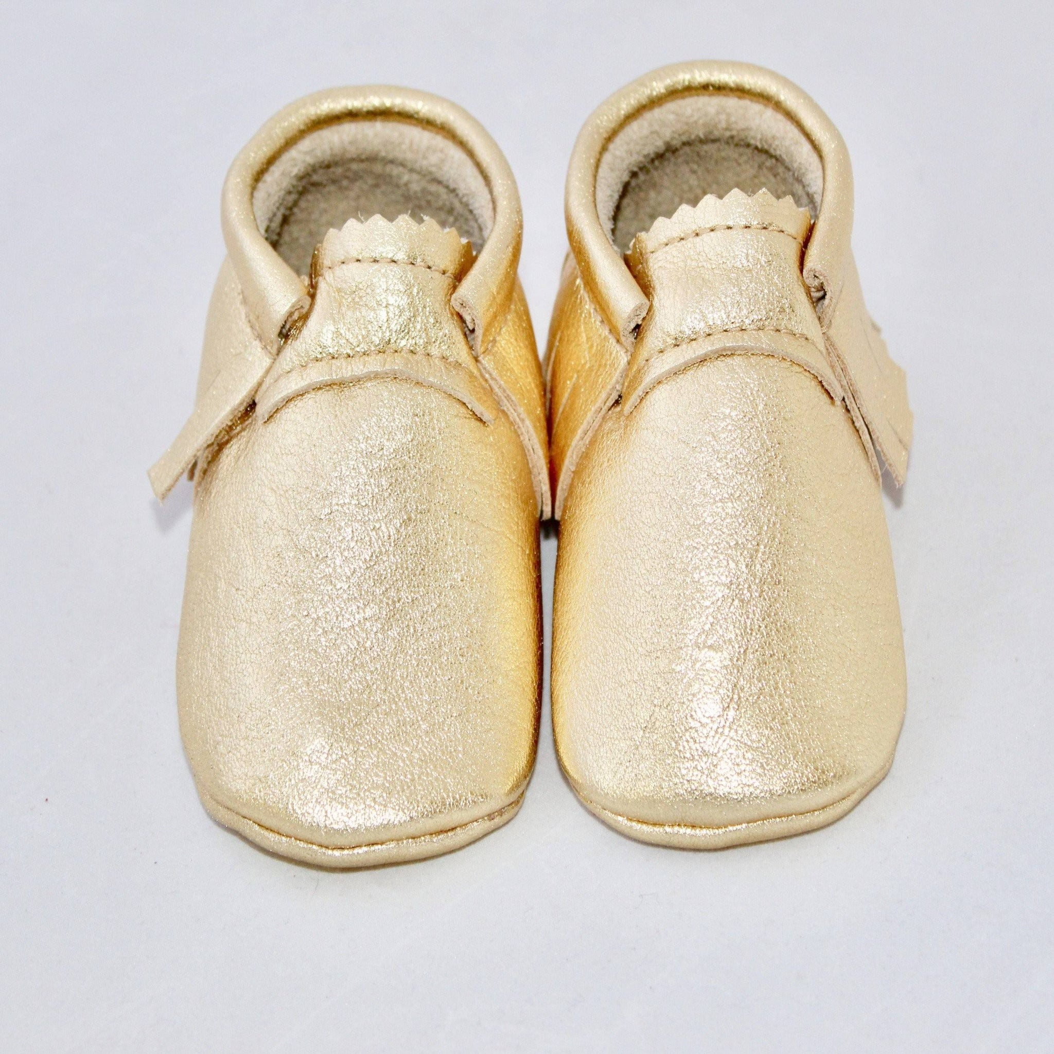 Gold Metallic- Moccs