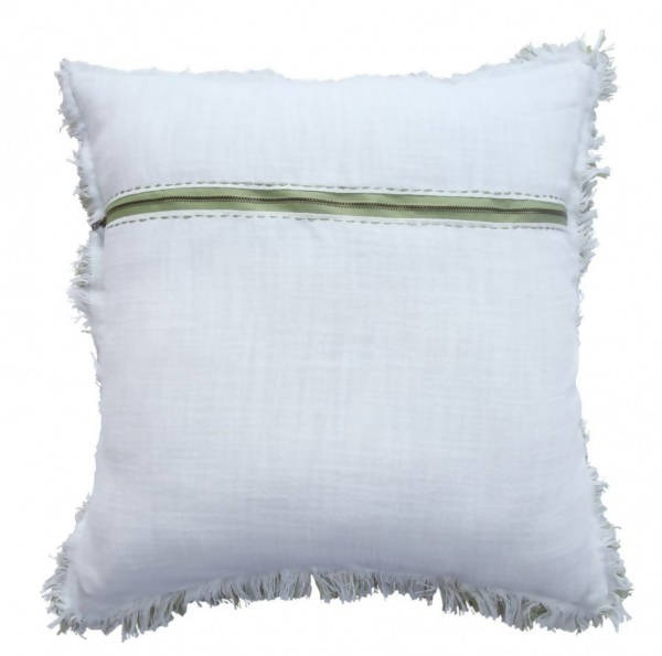 Handwoven Decorative Pillow/AD 541 IVR LME 22