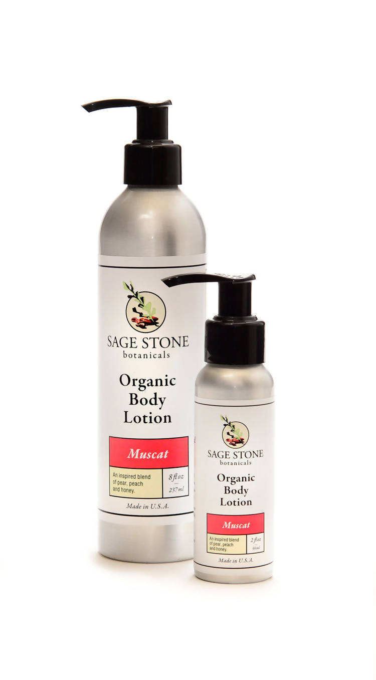 Muscat Organic Body Lotion