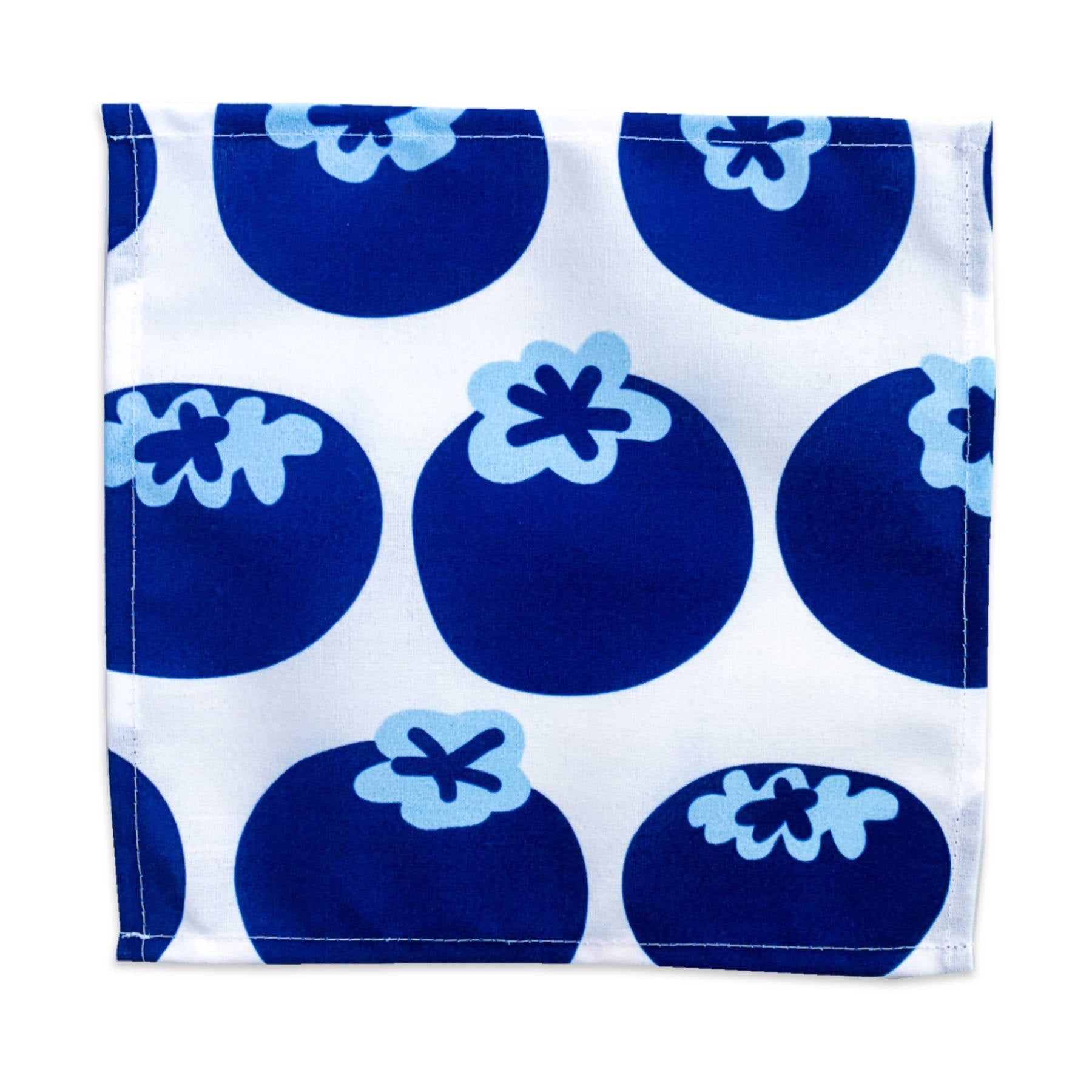 Cocktail Napkins - Blueberry & Leaves Set of 4