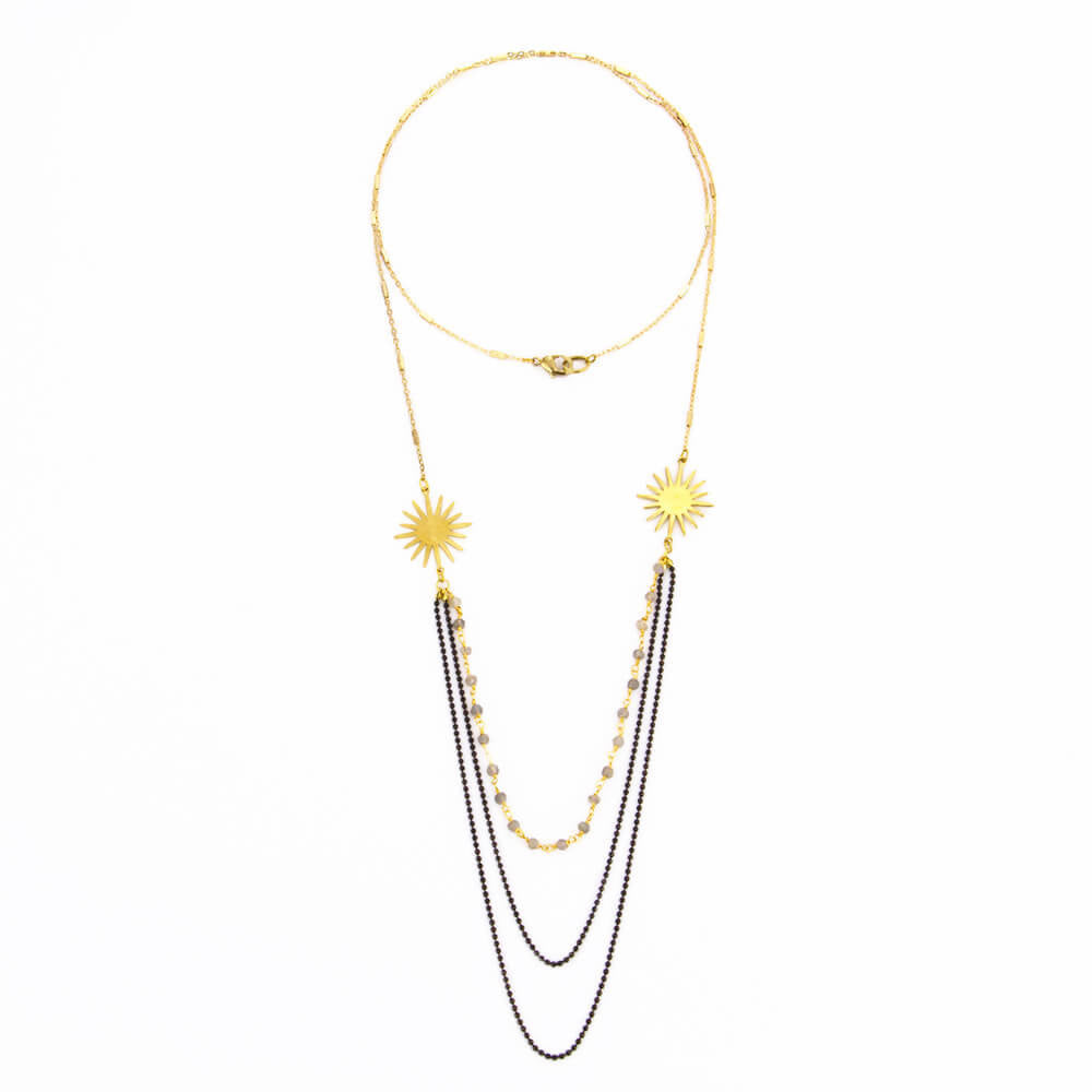 Sunshine Chandelier Necklace