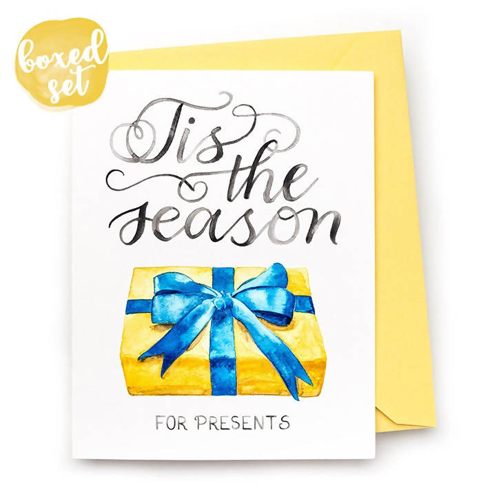 Tis the Season Cards, Set of 8