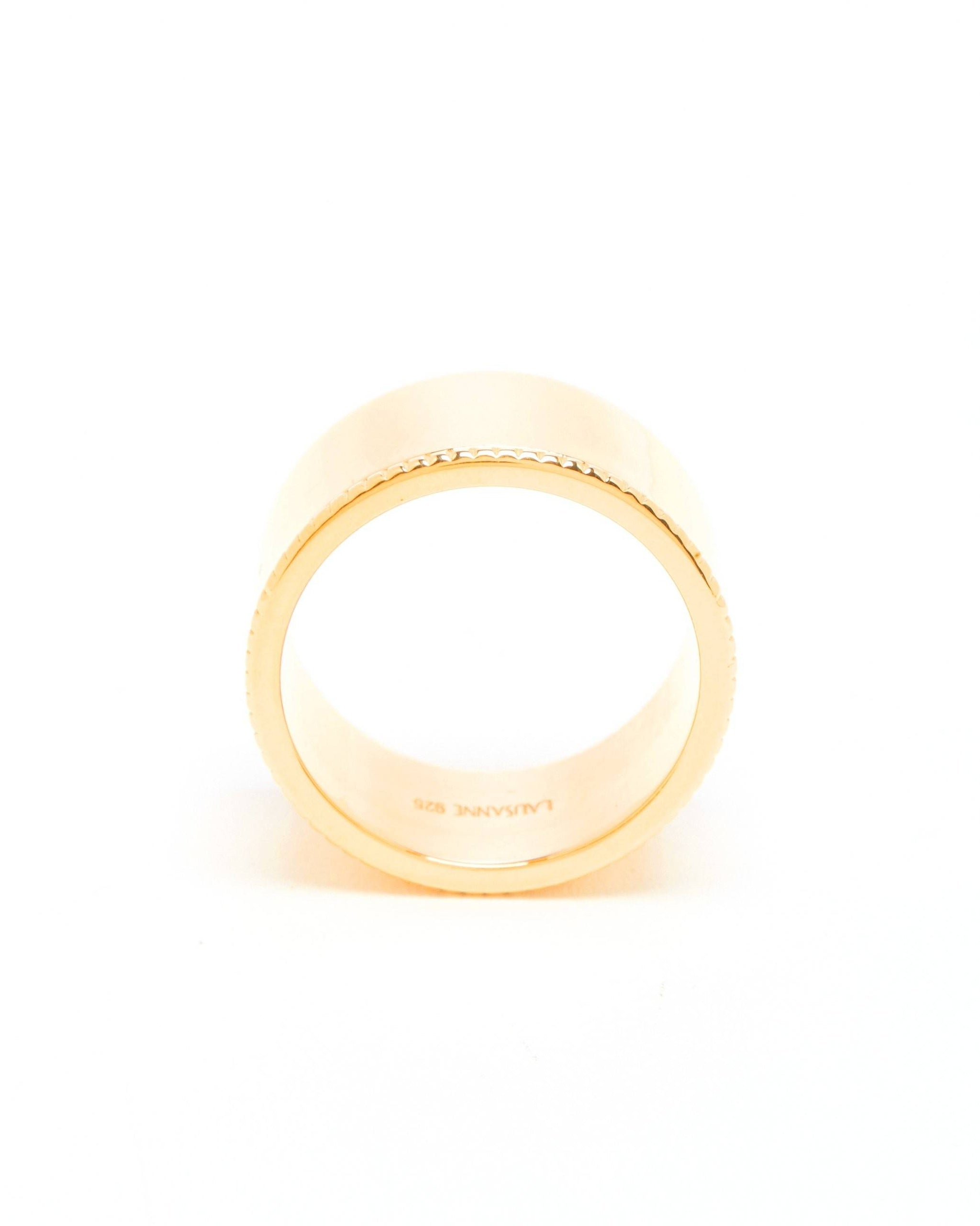 Gold Itty Big Band Ring