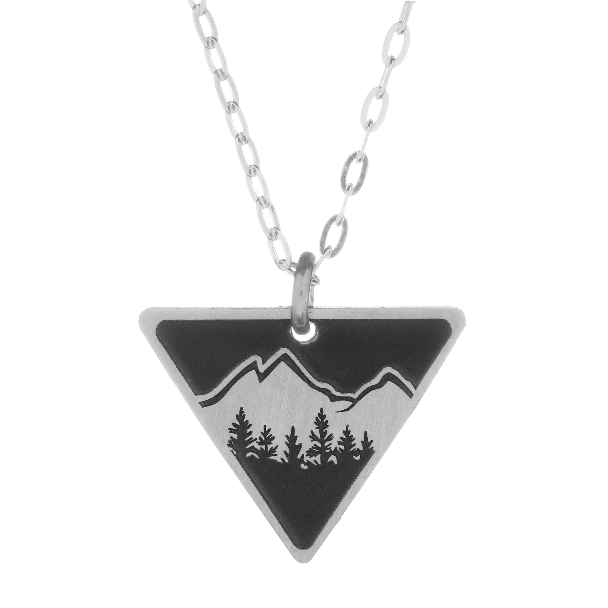 Explorer Small Triangle Necklace