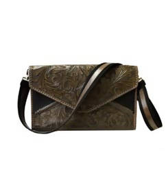 Crossbody Briefcase Taupe