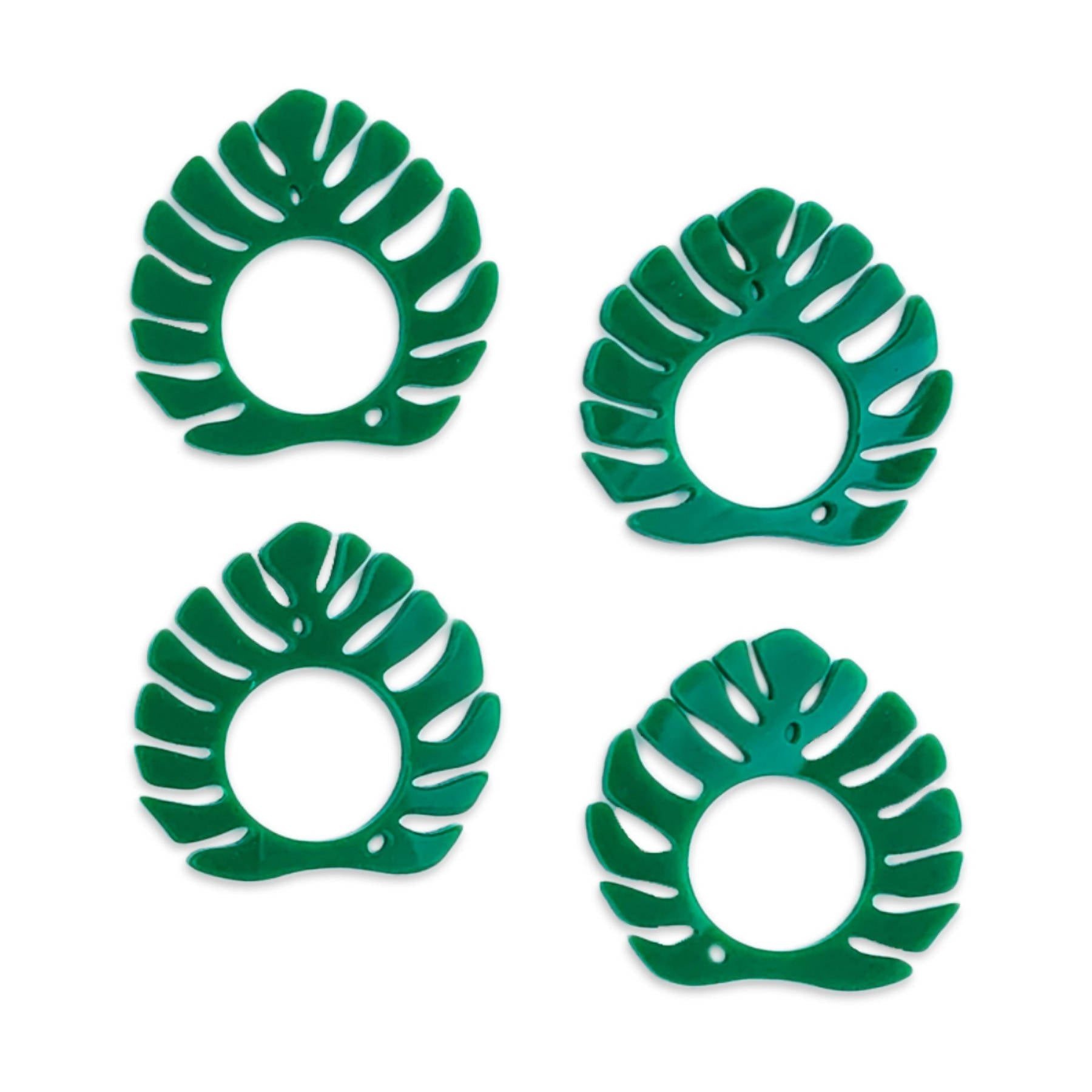 Napkin Rings - Palms & Plants Set of 4