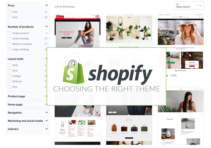 How to Choose a Theme For Your Shopify Store Development