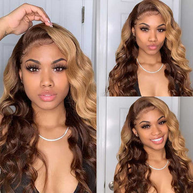 Flash Sale-Auburn water wave wig