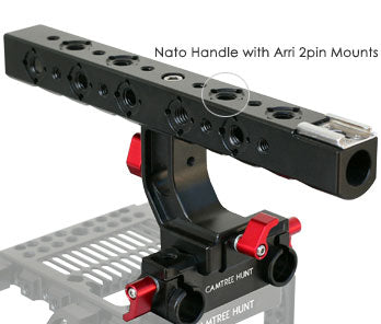 camera cage with top handle for red scarlet cameras