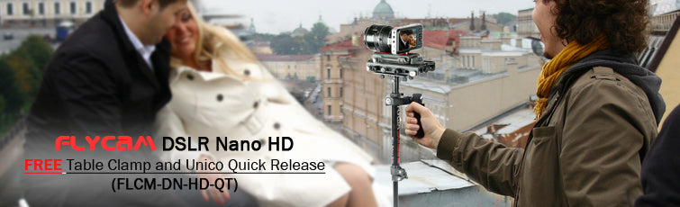 Flycam DSLR Nano HD Steadycam with Arm Support Brace