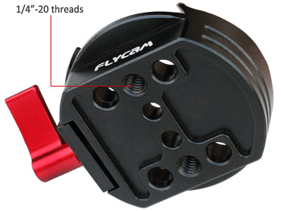 Flycam Quick Release Plate For DJI Ronin-M/Ronin-MX
