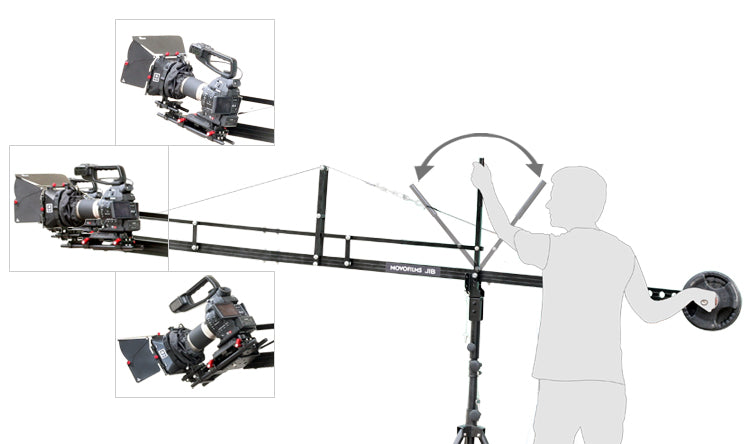 Proaim 14ft jib with multiple angle adjustment