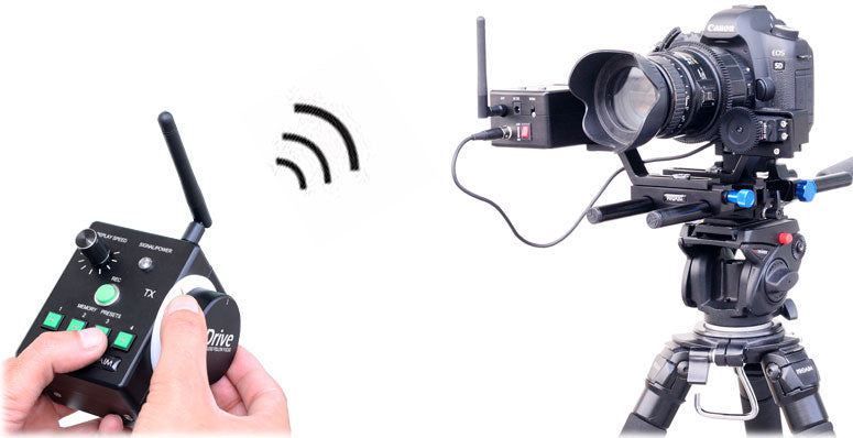 wireless monitor follow focus for cameras
