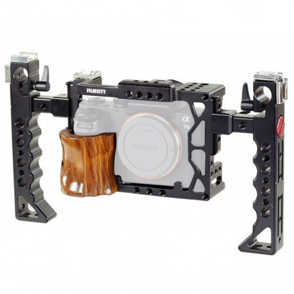 Filmcity Camera cage with Side handles