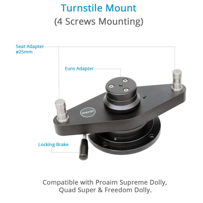 Proaim Dolly Turnstile Mount