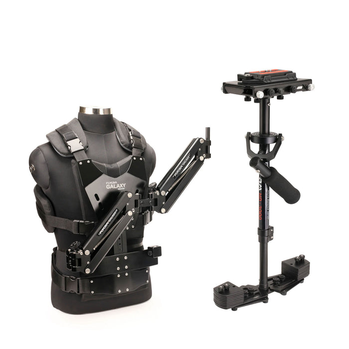 Flycam Galaxy Stabilizer Arm Vest with HD-3000 Camera Steadycam System