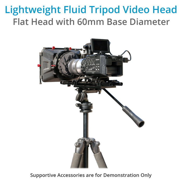 Proaim Fluid Video Head with Flat Base