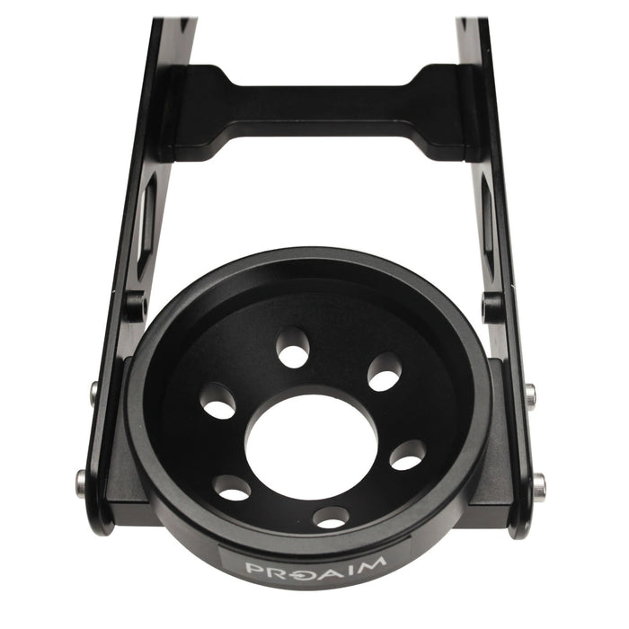 Proaim 100mm Bowl Head Mount for Powermatic Scissor Jib.