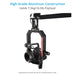 Proaim Gold Pan Tilt Head for Camera Jib Crane, Payload - 7.5kg/16.5lb