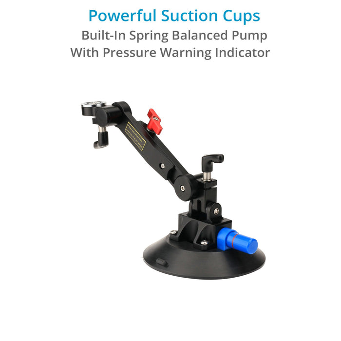 Proaim Gripmax Vibration Isolator Suction Car Mount.