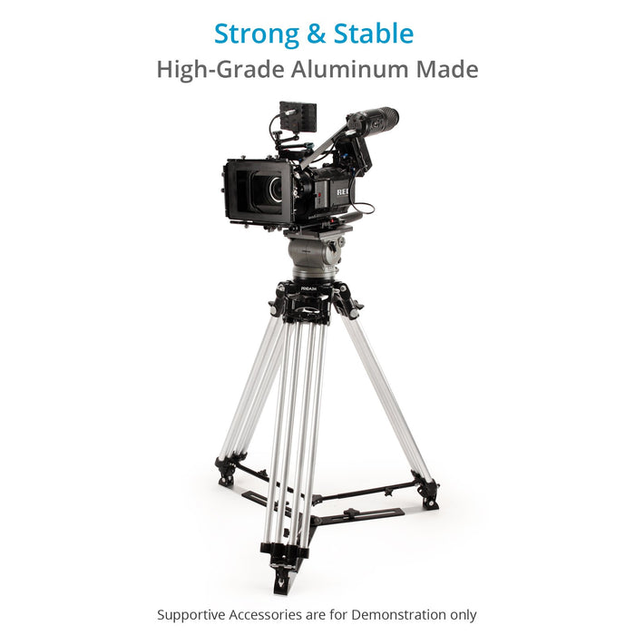 Proaim Heavy-Duty 150mm Camera Tripod Stand with Spreader