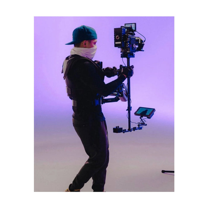 Flycam Vista-II Arm & Vest with Redking Video Camera Stabilizer