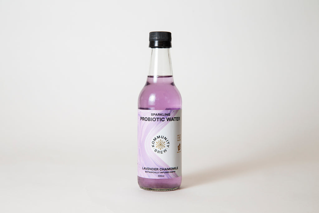 Lavender Chamomile Sparkling Probiotic Water - 330ml (12 Pack)