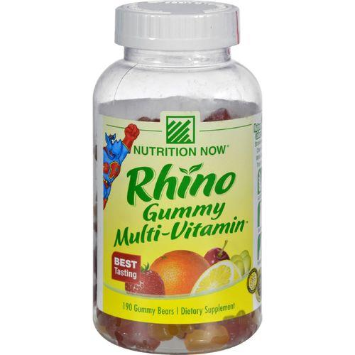 Nutrition Now Rhino Gummy Multi-Vitamin - 190 Gummy Bears