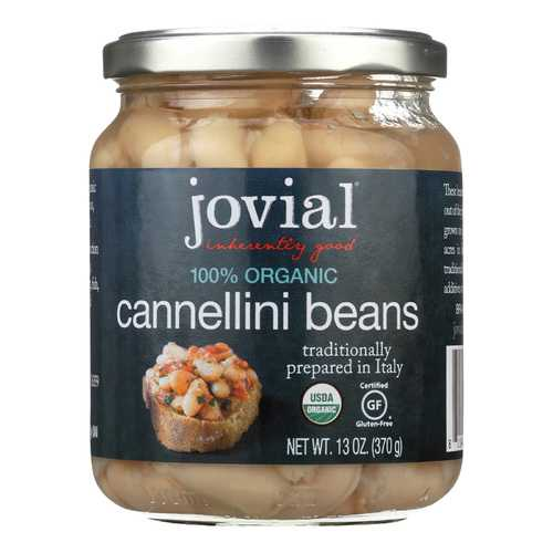 Jovial Cannellini Beans - Case of 6 - 13 oz.