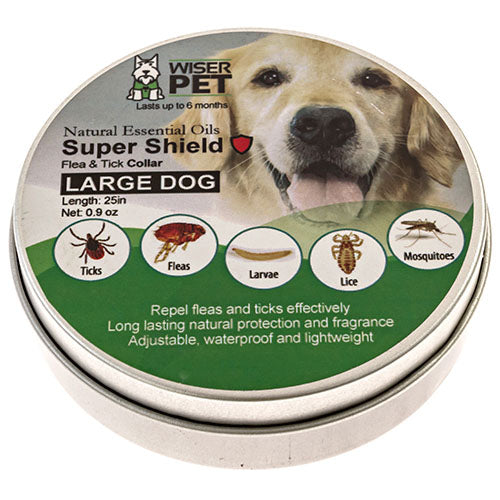 Natural Dog Flea Collar (for medium and large dogs)