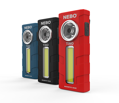 nebo tino flashlight led custom audio