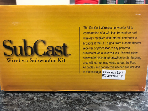 soundcast subcast wireless home subwoofer kit sck510